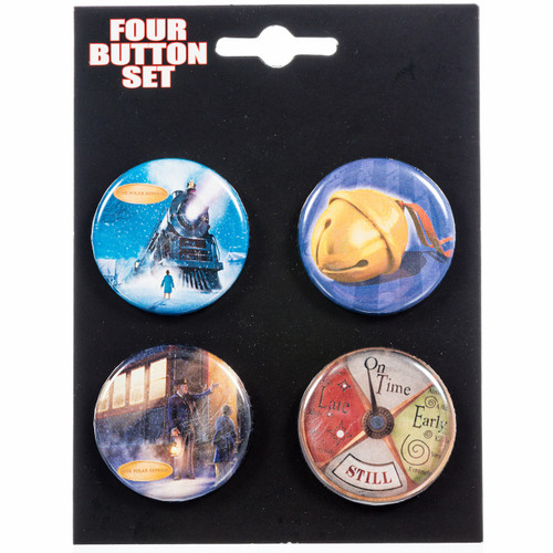 Polar Express Button Set