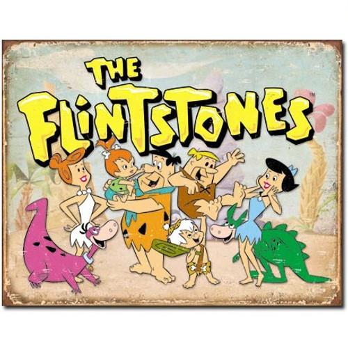 The Flintstones Retro Tin Sign