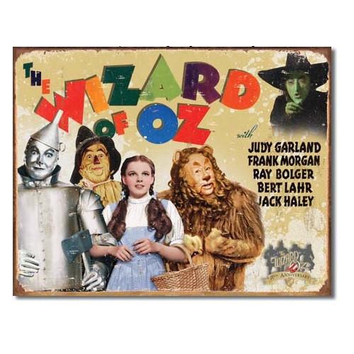The Wizard of Oz Tin Sign