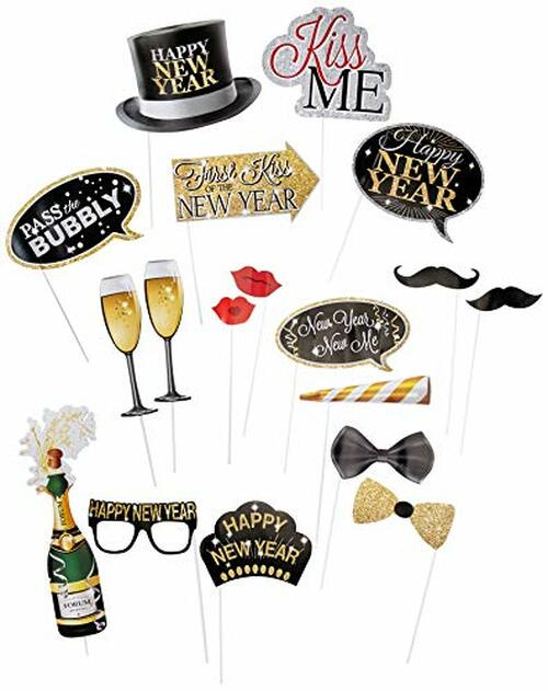 New Years Eve Photo Booth Accessories