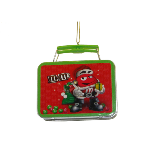 Christmas M&Ms Tin Ornament