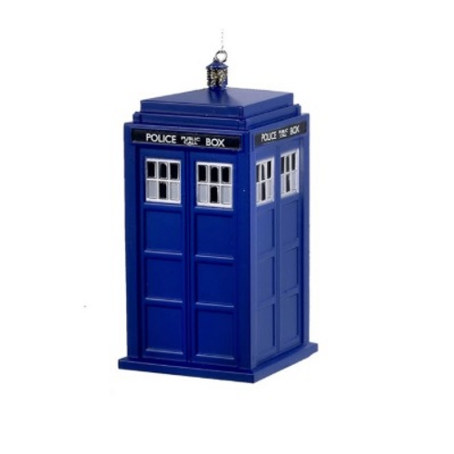 Doctor Who Tardis Ornament