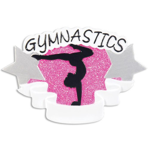Gymnastics Personalized Ornament