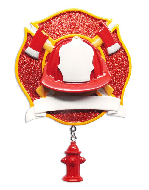 Fire Fighter Personalized Ornament