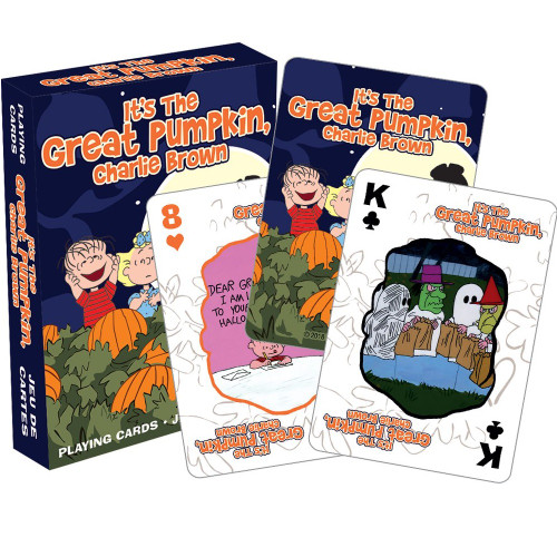 Peanuts' It's the Great Pumpkin Playing Cards