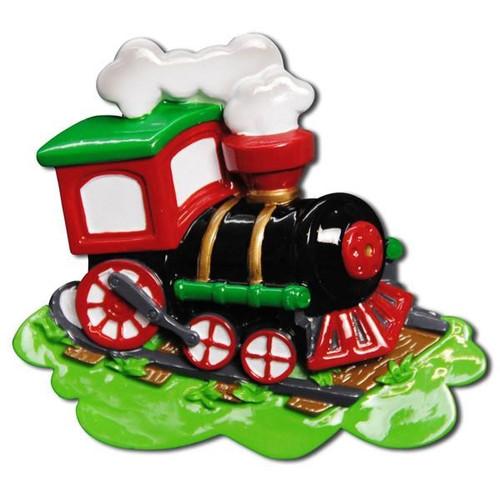 Choo Choo Train Personalized Ornament