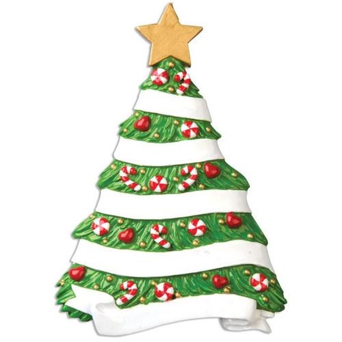 Grandma's Christmas Tree Personalized Ornament