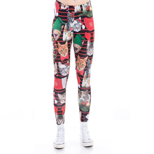 cfc6869fc94ad Festive Wear - Christmas Leggings - RetroFestive.ca
