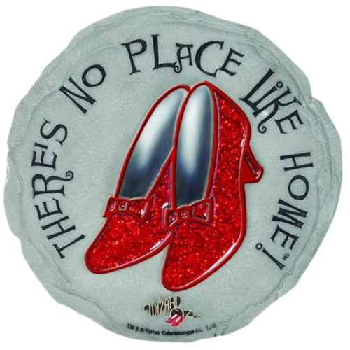 Wizard of Oz Ruby Red Slippers Stepping Stone