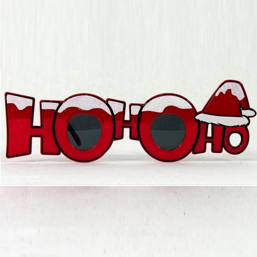 Ho Ho Ho Novelty Eye Glasses
