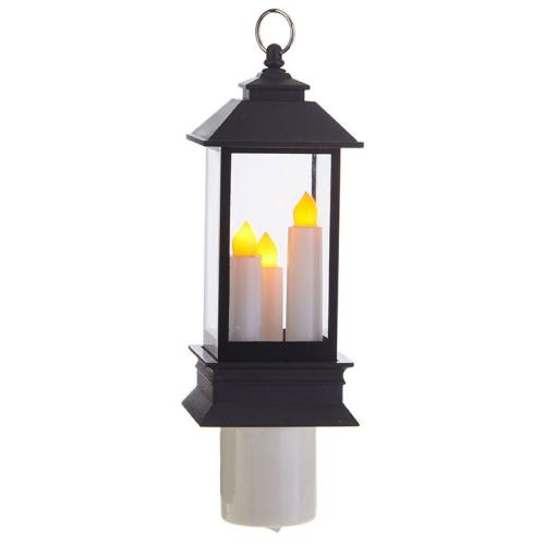 Lantern Nightlight with Three Candles