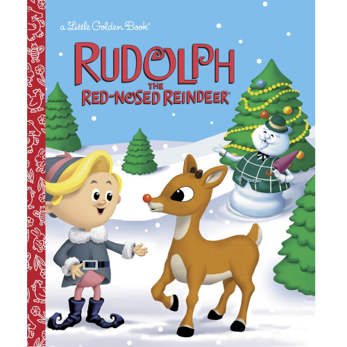 Rudolph The Red-Nosed Reindeer Golden Book