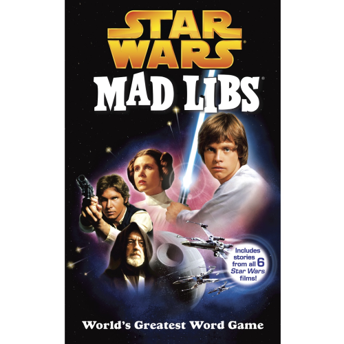 Adult Mad Libs: Star Wars
