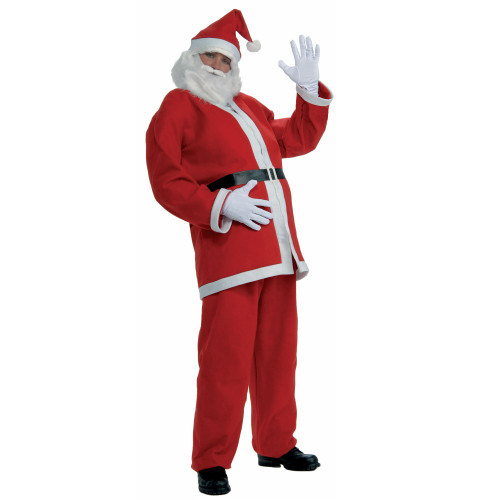 Simply Santa Suit Costume in Standard and XL Sizes