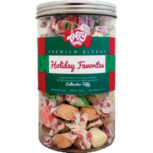 Taffy Town Holiday Favourites Jar
