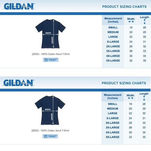 5fda54d6 Fortnite Before Christmas T-Shirt - Black · Youth Tee Size Chart · Adult  Gildan Size Chart ...