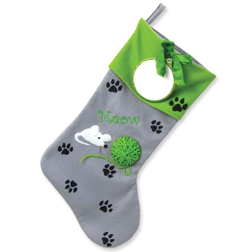 Kitty Paws Personalized Stocking