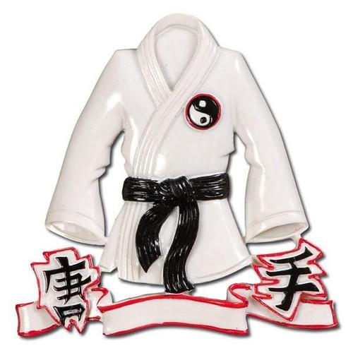 Karate Jacket Personalized Ornament