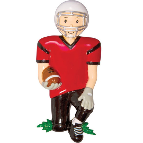 Football Player Personalized Ornament