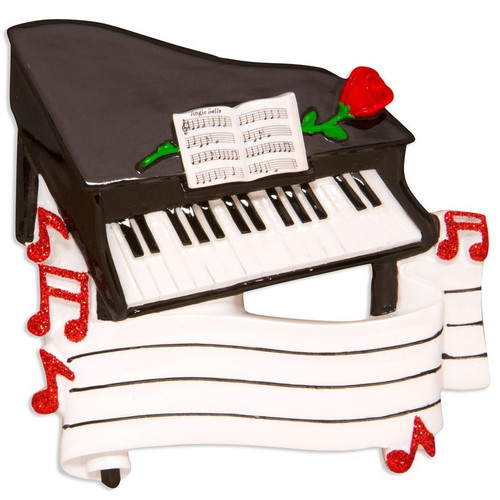Grand Piano Personalized Ornament