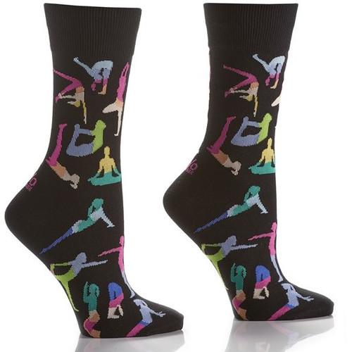 Yoga Women's Crew Socks Full Sock View