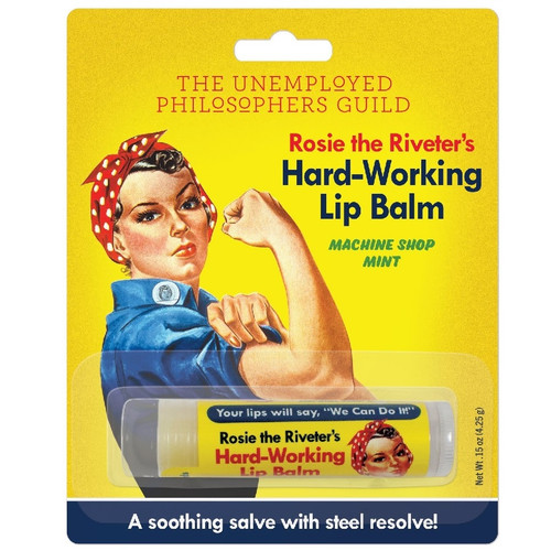 Rosie the Riveter's Hard-Working Lip Balm
