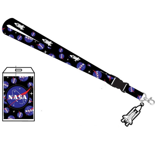 NASA Spaceship Lanyard