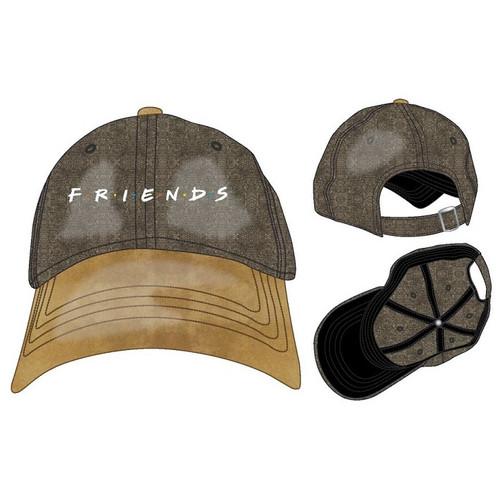 Friends Suede Logo Baseball Hat