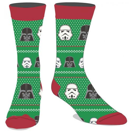 Star Wars Christmas Sweater Design Socks