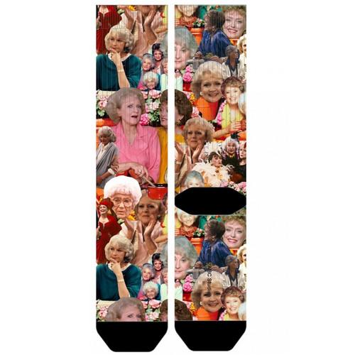 The Golden Girls Collage Crew Socks