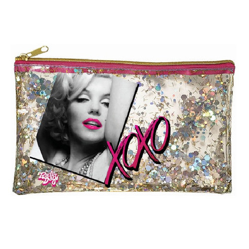 Marilyn Monroe Glitter Accessory Bag