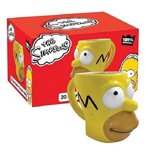 The Simpsons Homer Sculpted Mug