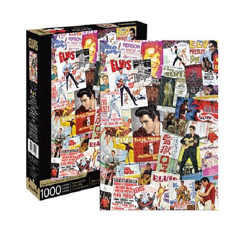 Elvis Movie Posters 1000 Piece Puzzle