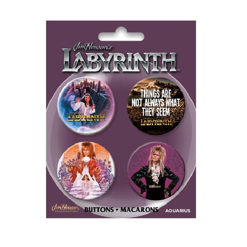 Labyrinth Button Set of Four