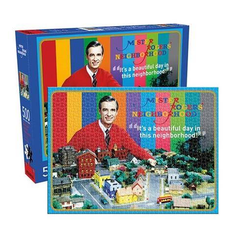 Mister Rogers 500 Piece Puzzle
