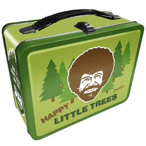 Bob Ross Happy Little Trees Tin Tote