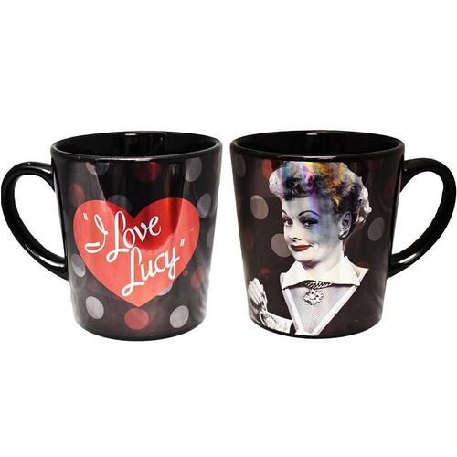 I Love Lucy Metallic Mug