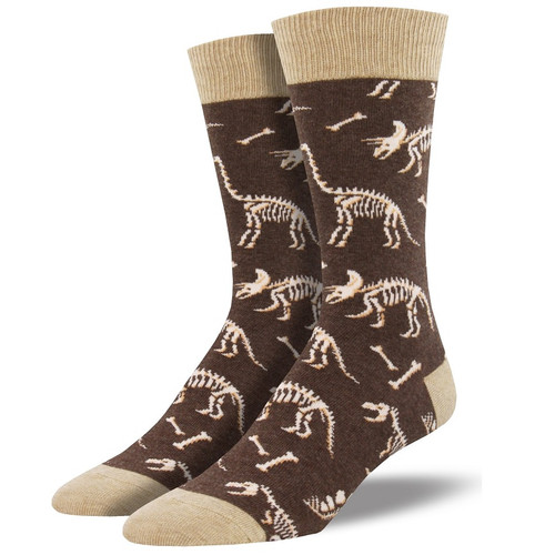 Can You Dig It Men's Crew Socks by Socksmith Canada
