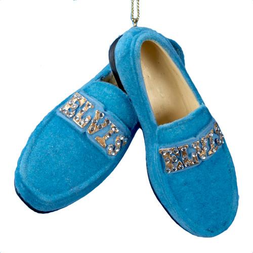 Blue Suede Shoes Ornament - Elvis.