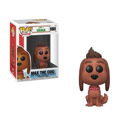 The New Grinch Movie Max The Dog Pop! Vinyl Figure by Funko