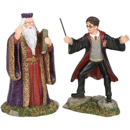 Harry and the Headmaster Harry Potter Village by Department 56