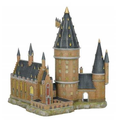 Hogwarts Great Hall and Tower Department 56 Harry Potter Village