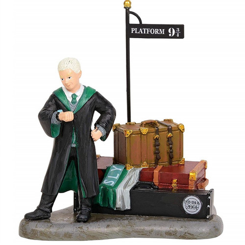 Draco Waits on Platform 9 3/4 Harry Potter Villlage by Department 56