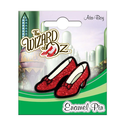 Wizard of Oz Ruby Slippers Enamel Pin