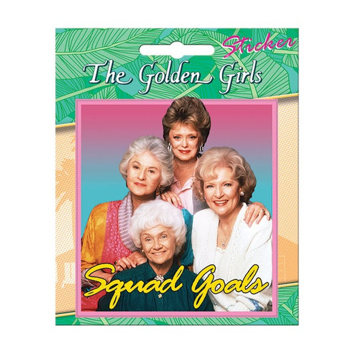 Golden Girls Squad Goals Sticker