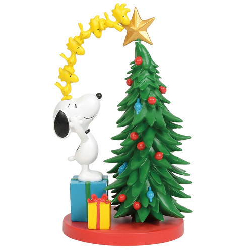 Peanuts Snoopy Decorating Tree Figure