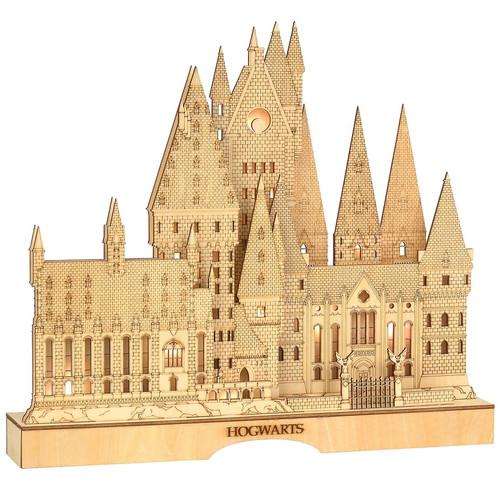 Harry Potter German-Inspired Hogwarts Lit Wooden Building