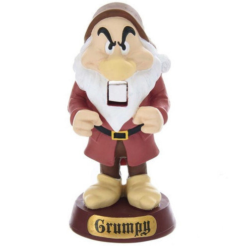 Disney Snow White's Grumpy Mini Nutcracker Decoration