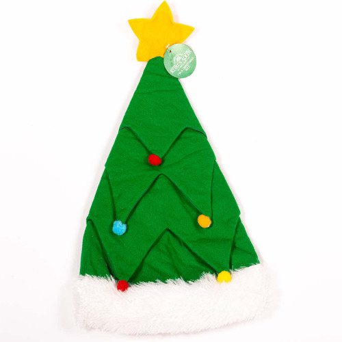 Felt Christmas Tree Hat