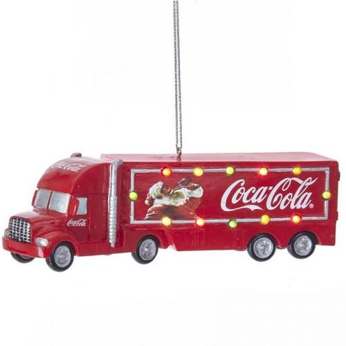 Coca-Cola Battery Operated Truck Ornament